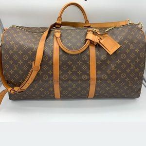 Louis Vuitton monogram Keepall bando 60